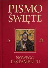 Pismo Św. Nowego Testamentu / bordowa - Praca zbiorowa
