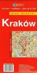 Kraków plan miasta 1:22 500 - Euro Pilot