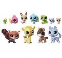 Hasbro Littlest Pet Shop Zestaw 11 figurek exotic