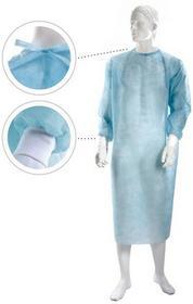 Matodress fartuch zabiegowy niejałowy, niebieski, roz. XL - 10 szt. MA-142-WLOK-115