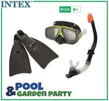 Intex Zestaw do nurkowania Explorer maska + rurka + Płetwy 55959
