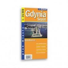Demart Gdynia Sopot mapa 1:26 000 Demart