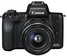 Canon EOS M50 + 15-45mm (czarny) - Raty 20 x 124,95 zł - szybka wysyłka! | Darmowa dostawa