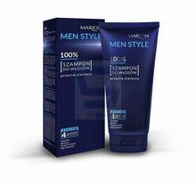 Marion Men Style 100% Szampon do włosów Przeciw siwieniu 150 g