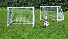 VIZARI Zestaw bramek piłkarskich z piłką i pompką 61 x 45.5 x 30 cm)