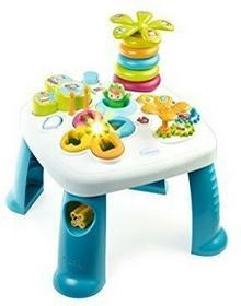 SMOBY 211067 Cotoons Stolik edukacyjny niebieski + auto + 3 figurki 3032162111697