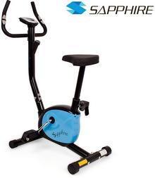 Sapphire sport sport Rower treningowy Vintage czarno-niebieski + pas