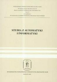 Poznańskie Towarzystwo Przyjaciół NaukStudia z automatyki i informatyki t.32