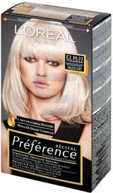 Loreal Recital Preference Farba do włosów Bardzo Bardzo Jasny Blond Opalizujący Z2 Stockholm 10.21