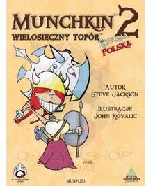 Black Monk Gra Munchkin 2 - Wielosieczny Topór