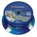 Verbatim BD-R 25GB 6x do Tak NO ID 25 szt 43811