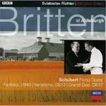 Britten At Aldeburgh Vol 2 CD) Benjamin Britten Sviatoslav Richter
