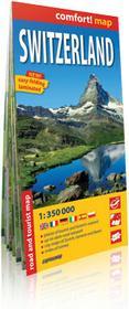 ExpressMap praca zbiorowa comfort! map Szwajcaria (Switzerland). Laminowana mapa samochodowo-turystyczna 1:350 000
