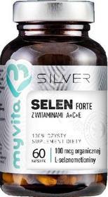 PRONESS MyVita Silver Selen forte z witaminami A+C+E x 60 kaps