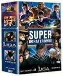 Super Bohaterowie Fantastyczna 4 X-Men II Liga Niezwykłych Dżentelmenów DVD) Tim Story Bryan Singer Stephen Norrington