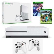 Microsoft Xbox One S 1 TB Biały + Dance Central Spotlight + Minecraft + Kontroler