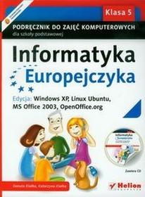 Helion Edukacja Danuta Kiałka, Katarzyna Kiałka Informatyka Europejczyka. Klasa 5. Podręcznik do zajęć komputerowych z płytą CD