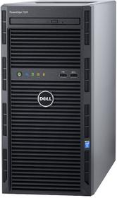 Dell Serwer PowerEdge T130 E3-1220v6 8GBub 2x 1TB SATA 3,5'' cabled ENT H330 DVD-RW 3yNBD PET1302a