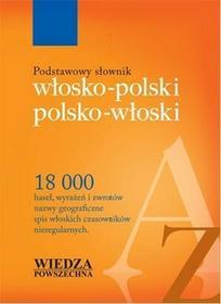Podstawowy słownik włosko-polski, polsko-włoski - Anna Jeslińska, Alina Kruszewska