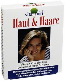 pharmarissano Arzneimittel Gmb Haut + Haare Vitamin kapsułki z witaminami dla skóry i włosów 15 szt.