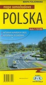Bik Polska mapa samochodowa foliowana - Wydawnictwo BiK