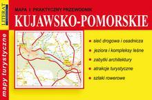 Literat Mapa i praktyczny przewodnik - kujawsko-pomorskie - Opracowanie zbiorowe