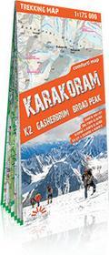 ExpressMap praca zbiorowa trekking map Karakorum (Karakoram). Laminowana mapa trekkingowa 1:175 000