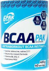 6PAK Nutrition BCAA PAK - 400g 004294