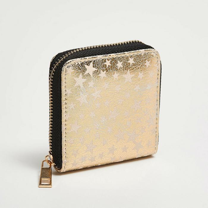 ec21a51473c9a Sinsay Sinsay - Mały portfel w gwiazdki - Beżowy – ceny