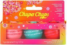 Lip Smacker Flavoured Lip Balm Domed Ball 3x7g Zestaw błyszczyki do ust Chupa Chups Mix