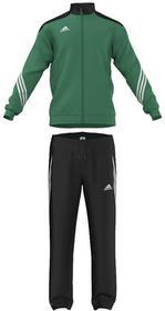 Adidas Dres treningowy Sereno 14 zielono-czarny F49714