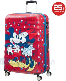 Samsonite AT by Duża walizka AT MINNIE LOVES MICKEY 85673 Multikolorowa