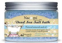 Nacomi Sól morska do kąpieli z olejem z pestek winogron - Natural Greek Dead Sea Salt Bath Sól morska do kąpieli z olejem z pestek winogron - Natural Greek Dead Sea Salt Bath