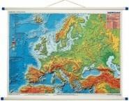 Meridian Mapa Ścienna Europa Fizyczna Meridian
