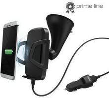 Hama Ładowarka indukcyjna QI Car PrimeLine 173669 5 V przez USB