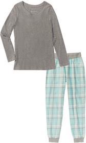 0ad275219885fd Bonprix Piżama dla ciężarnych jasnoróżowo-szary melanż – ceny, dane ...