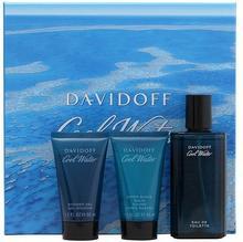 Davidoff Cool Water 50ml żel pod prysznic + 75ml woda po goleniu + 50ml balsam po goleniu ZESTAW 19717-uniw