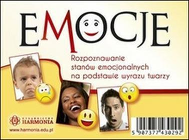 HarmoniaEmocje. Rozpoznawanie stanów emocjonalnych na podstawie wyrazu twarzy. Karty - Opracowanie zbiorowe