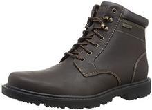 Rockport ROCK port Men's Redemption Road Waterproof Plain TOE Boot, kolor: Dark Brown, rozmiar: jeden rozmiar B0797G2X1Y