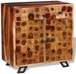 vidaXL Kredens z litego drewna sheesham, 65 x 35 cm vidaXL