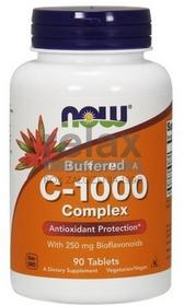 Now Foods RELAX Witamina-c1000-buforowana-complex-90-tabl