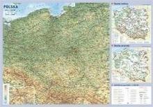 Demart praca zbiorowa Polska. Mapa ścienna 1:1500000