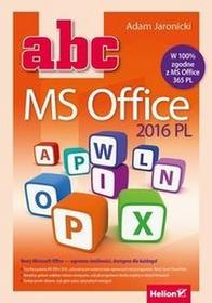 HelionABC MS Office 2016 PL - Adam Jaronicki