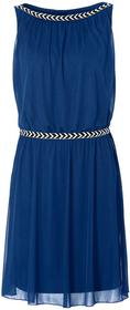 Bonprix Sukienka shirtowa niebieski