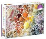 Rainbow Seashells 2000 Piece Puzzle (Galison)