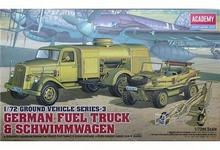 Academy German Fuel Truck & Schwimmwagen MA-13401