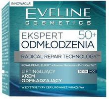 Eveline Ekspert 50+, liftingujący krem odmładzający dzień/noc, 50 ml