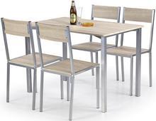Halmar Zestaw Ralph: stół i 4 krzesła
