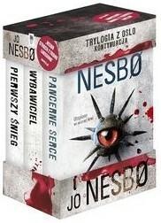 Dolnośląskie Pakiet Jo Nesbo 4 -  Wybawiciel / Pierwszy śnieg / Pancerne serce - Jo Nesbo