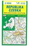 Atlasy i mapy  Czechy - mapa drogowa - Piętka